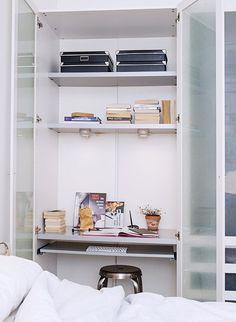 8 easy workspaces. / sfgirlbybay