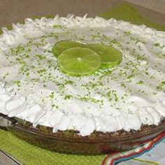 Easy Key Lime Pie I Allrecipes.com