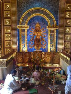 A particularly beautiful Maa Durga idol