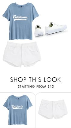"""Untitled #990"" by alanawedge59 on Polyvore featuring Topshop and Converse"
