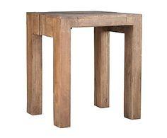 Mesa auxiliar en madera de mango Jamila