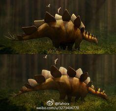 剑龙是大众非常熟悉的恐龙,但是由于缺乏完整的标本,我们对于这种恐龙的了解仍然非常有限;在对目前已知最完整的标本重新研究显示剑龙的颈部可能比之前所认为的要长很多,而身体则相应缩短;这提示剑龙很可能没有我们想象的那么笨重,而是优雅而灵活的动物