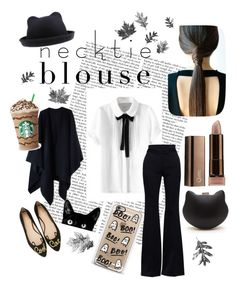 """""""Autumn Black Cat"""" by starsurfer9 ❤ liked on Polyvore featuring Tim Holtz, Acne Studios, Alexander McQueen, Kate Spade and Casetify"""