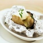 How to make a restaurant-style baked potato at home!