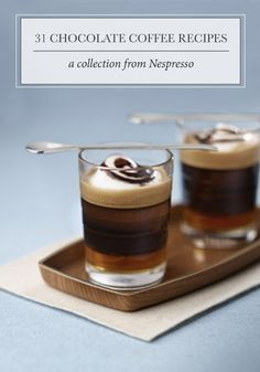 There may be no better pairing than chocolate and coffee. To experience this classic flavor combination for yourself, check out these 31 chocolate coffee recipes from Nespresso.