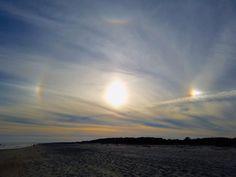 El Sol y parhelios desde Carolina del Sur, Estados Unidos – El Universo Hoy