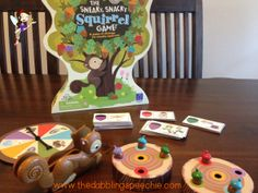 Fun language companion pack to go with the game Sneaky Snacky Squirrel!  Pinned by www.thedabblingspeechie.com