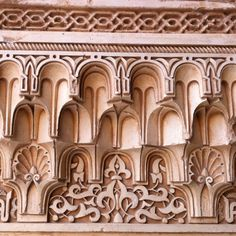 Stone carving, Alhambra