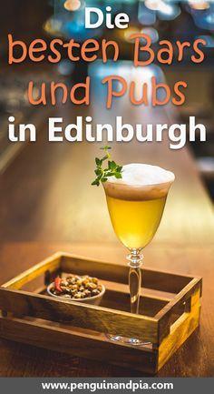 Du suchst nach gute Bars und Pubs in Edinburgh, Schottland? Wir zeigen dir eine Auswahl der besten Orte für einen Drink in der schottischen Hauptstadt - von der Altstadt bis zur Neustadt, gute Bars findest du in Edinburgh (fast) überall. #edinburgh #schottland #bars #ausgehen