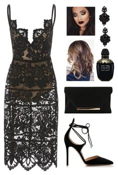 Sugar by yasminferrare on Polyvore featuring polyvore, fashion, style, Gianvito Rossi, Tasha, Alexander McQueen and clothing