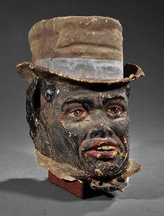 carnival mask antique papier mache - Google Search