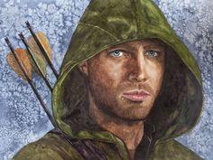 Oliver Queen gespielt von Stephen Amell in der Serie Arrow - Jutta Bachmann