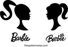Barbie Png, Barbie Doll Head, Free Barbie, Bad Barbie, Barbie Theme Party, Barbie Birthday Party, Logo Barbie, Paar Illustration, Barbie Tattoo