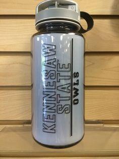 9afcca5b984 Kennesaw State University Nalgene water bottle to hold your liquid of  choice. KSU - Owls