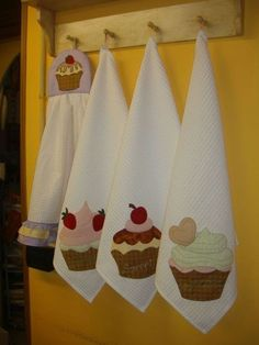 pano de cozinha decorado