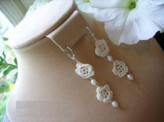 Double bloom sterling silver earrings by anordicrose on Etsy, $15.00