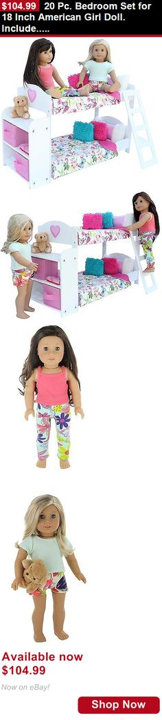 Telescope Cases And Bags: 20 Pc. Bedroom Set For 18 Inch American Girl Doll. Include... New 2-Day Shipping BUY IT NOW ONLY: $104.99