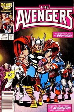 Avengers #276 by John Buscema and Tom Palmer