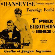 """Grethe & Jorgen Ingmann, """"Dansevise"""", winner song of the Eurovision Song Contest 1963"""