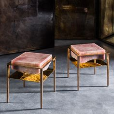 Gianluca Pacchioni Ateliers Courbet Cremino Tables Furniture Design Milan Artist Sculptural Bronze Tables