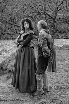 Claire Fraser and Ned Gowan (Season 1, Episode 5: Rent)