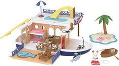 Sylvanian Families Día At The Seaside Juego Muñecas Modelo Muñecas Y Accesorios