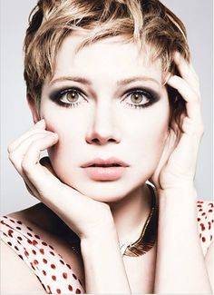 W magazine  It's hard to look at this shot of Michelle Williams and not want a pixie cut.