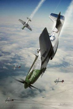 P 51 Mustang Wallpaper pictures in the best available resolution. Ww2 Aircraft, Fighter Aircraft, Military Aircraft, Fighter Jets, Photo Avion, Airplane Art, Airplane View, P51 Mustang, Viajes