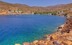 Megalo Livadi beach, Serifos