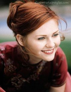 red hair kirsten dunst kirsten dunst with red hair. kirsten kirsten dunst red hair Kirsten Dunst is the filmmaker confessed t. Kirsten Dunst, Mary Jane Watson, Natural Redhead, Beautiful Redhead, Red Hair Looks, Redhead Girl, Ginger Hair, Trendy Hairstyles, Redheads