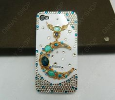 iPhone 5 case 3D case Pearl case Mythos goodluck case gifts. $22.99, via Etsy.