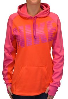 c9c2c5fcbb0 TOPSELLER! Nike Women`s Therma-Fit Pullover Hoodie Sweatshirt-Orange  54.98  Matches