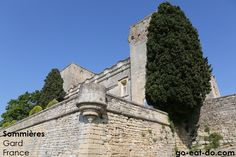 One of the historic sites near Sommieres, Gard, France.