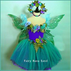 Fairy Costume - Flower Girl - The Devon Violets Faerie - made to order childrens sizes 2-4 or 4-6. Description from pinterest.com. I searched for this on bing.com/images