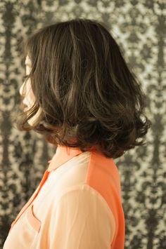 ヘアスタイル ミディアムパーマ編(低温デジタルパーマ) |Sho利の女髪☆
