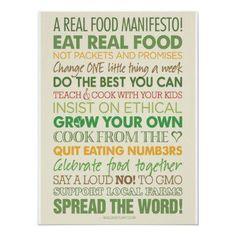 Real food!