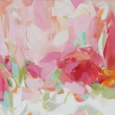 Pink Christina Baker Paintings