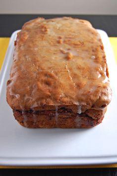 Gluten Free Apple Cinnamon Swirl Banana Bread   emthebaker.com