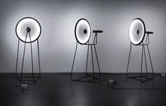 This unusual Curve ID lamp was inspired by black holes!