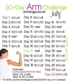 Arm challenge