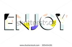 Brushed background with text in vector - stock vector