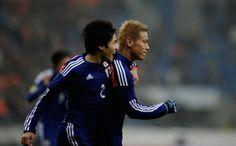 Japan - Netherlands, Honda Keisuke, Uchida Atsuto