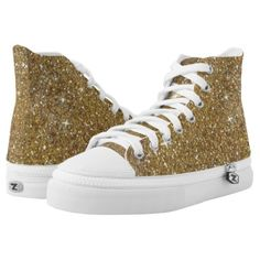 Luxury Gold Glitter - Printed Image High-Top Sneakers  Luxury Gold Glitter - Printed Image High-Top Sneakers    $96.20  by  Tannaidhe  http://www.zazzle.com/luxury_gold_glitter_printed_image_high_top_sneakers-256030694983610072    - - - Check out everything else at my storefront!  http://www.zazzle.com/tannaidhe?rf=238565296412952401&tc=MPPin