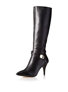 www.myhabit.com  Pretty pointed toe boot features wraparound detail, polished metal trim, partial side zip closure