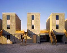 Social housing in Chile by Architect Alejandro Aravena