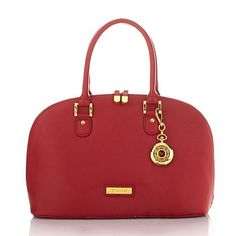 12.7.14- Today's Special!~ Joy & IMAN 22-Section Genuine Leather Handbag & Watch- Lots of colors to choose from