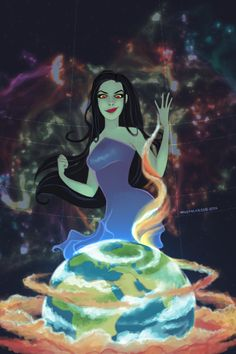 Goddess of Discord by Joanna B [©2014 Mustelka93]