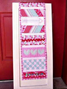 Doodlebug Design Inc Blog: Doodlebug Fabric: Sweetcakes Table Runner by Amy Chappel