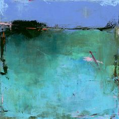 Summer Lily Pond  20x20 Contemporary Abstract Landscape Painting by Jacquie Gouveia (Top Emerging Artist for 2012), $550.00 http://www.jgouveia.com