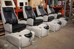 Used Amerispa Pedicure Massage Chair Spa Chairs Warranty Nail Salon Shiatsu